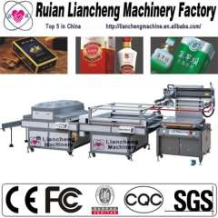 Automatic screen perssing machine and vacuum screen printer