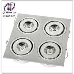 0.3A 4W Aliminum LED square stoe ceiling light with IP53