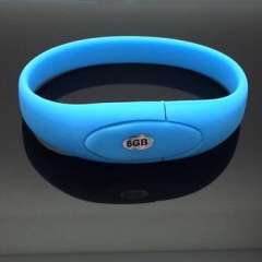 2GB Colorful silicon Bracelet USB drive Pendrive