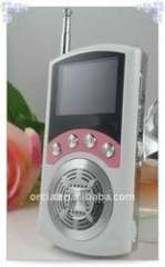 gift mp3 digital player with larger speaker