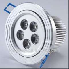 CE Approved 5W LED Kitchen Ceiling Light Plastic Ceiling Light Covers