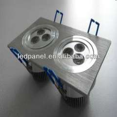Double-head ceiling lamp Epistar chip 2X3 ceiling led light