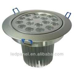 18W High power high quality led ceiling light led drop ceiling light fixture
