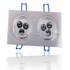 Double-head ceiling lamp Epistar chip 2X3 led ceiling led light