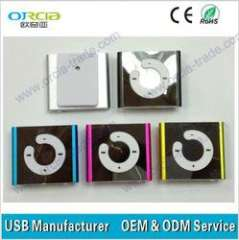 C shape mini clip mp3 player new mp3 products for 2013