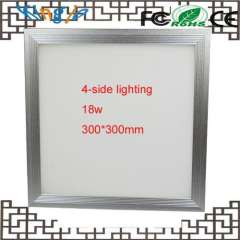 300*300mm 4-side lighting 18w dimmable led panel light