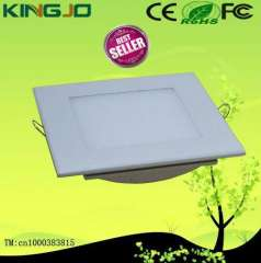square 3014 smd recessed 12w led ceiling panel light