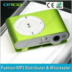 Green, Blue, Sliver, Black and other customized colors digital MP3 Player