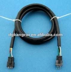 molex 43045 wire harness assembly for machine