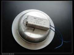 recessed install power 9w round led downlight