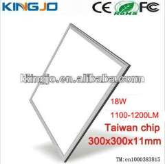 dimmable or non-dimmable 18w 300x300mm panel led