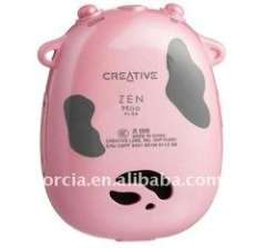 2011 hot sell latest model 1GB new brand colorful cow MP3 Player