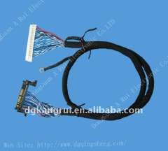 1.0mm Dupont lvds wire cable harness