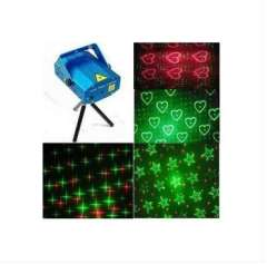 LED lamp | Red Green 12W LED Stage Light Disco Ballroom KTV Bar Club Party Show Living Room Decoration Laser Moving Projector Dancing Lamp