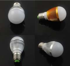 Free shipping 10pcs\lot Dimmable Bubble Ball Bulb AC85-265V 9W 12W 15W E14 E27 B22 GU10 High power Globe light
