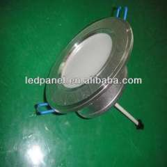 3w glass cover, stain aluminum face with driver led ceiling lamp