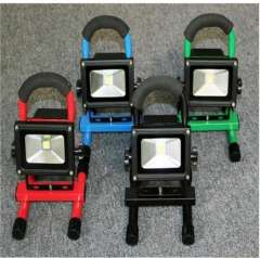 LED 10W IP65 portable floodlight, for army, fire emergency rescue, disaster relief, Emergency Lanterns, Factory Direct Sale, 4pcs\lot