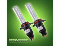 2pcs 12V 35W HB3-9005 6000K Auto Car Fog Lamp Headlight HID Single Xenon Bulbs (Black)