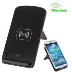 3 Coils Desktop Dock Stand Charger Qi Wireless Charging Pad for Nexus4 & 5 \ HTC 8X \ Lumia920 820 \ Samsung \ iPhone