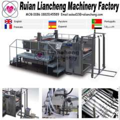automatic screen printing machine and screen printing machine for plastic bottles