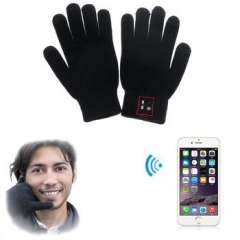 Scolour Touch Screen Bluetooth 3.0 Talking Gloves Headset Speaker For Smart Phone