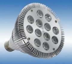 FREE SHIPPING LED 12*2w LED CE ROHS Supplier CREE Chip Dimmable aluminum led light 24 watts High power PAR38 LED spotlight