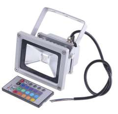 Free Shipping 10W 20W LED Flood Light IP65 Waterproof 85-265V high power outdoor Green Red Blue RGB Changeable Floodlight Lamp