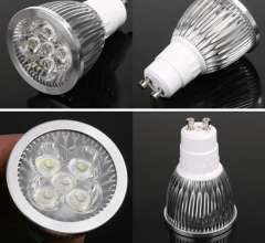 High Power LED Lamp CREE GU10\E27\MR16 AC 85-265V 5X3W 15W 80W LED Bulb Light Spotlight Downlight replace 80W