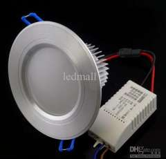 High Power 7W 9W LED downlight \ led recessed ceiling down light lamp for living room flush mount free ship