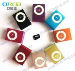Insert TF card clip MP3 without screen clip MP3, Gift clip MP3, clip MP3 wholesale