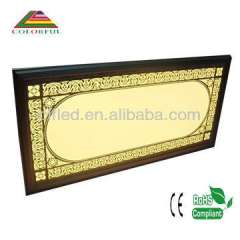 New frame design with printing led ceiling panel lamp