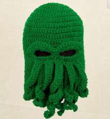 Octopus knitted hat octopods knitted hat lovers design free shipping