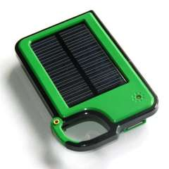 New Creative Electronic Gifts Solar Mobile Charger 5.5V 1450mAh Solar Power Bank+Mono Solar Panel+USB Output Battery Charger