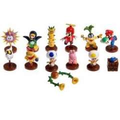 13 PCS Cute Super Mario Bros Series 5 Action Figures with Stand