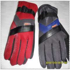 Male casual thermal winter skiing gloves 3 double free shipping
