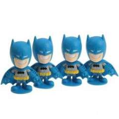 Well-sculpted Super Hero Batman Animation Character Model (4Pcs)