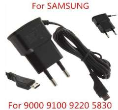 EU 5V Travel AC Wall Charger Adapter For Samsung-Galaxy S2 i9300 i9220 i9100
