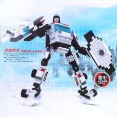 NO.81508 Plastic Building Blocks Blade Warriors Educational Funny Toy for Children