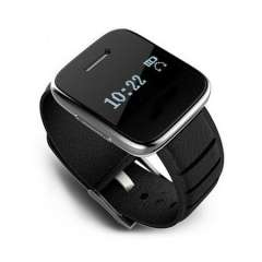 Wholesale Bluetooth Genuine Leather Smart Watch For iPhone\android Phones