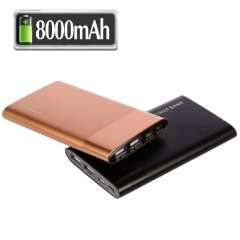 Wholesale 8000mah new power bank with USB