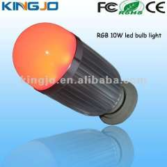 Red Light, Rutilant, White Light 10w lamp led bulb with CE, ROHS, FCC