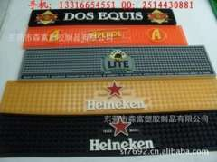 Supply of advertising and promotion bar mat, square soft bar pad, bar pad Epoxy