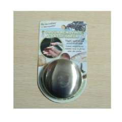 Round stainless steel soap