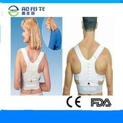 magnetic therapy adjustable body posture corrector shoulder brace