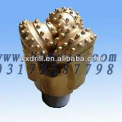API 8 1\2' IADC 537 rubber sealed journal insert tooth tricone bit for water well drilling