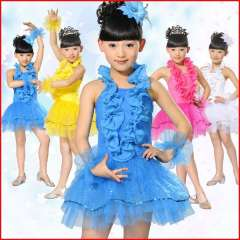 Costume child for primary school students female child costume dance skirt performance wear