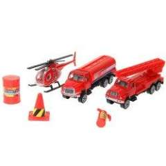 NO.JP401 City Vehicle\Car for Children (3PCS) - Red