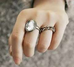 2012 new | Korean jewelry | influx of people retro texture gem | Ring Ring | Women