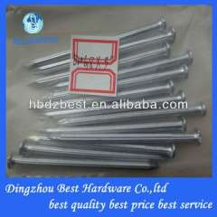 concrete steel nail with groove shank