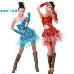 Paillette Latin dance costume dance modern dance clothes short design national costume clothes